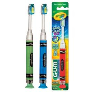 GUM Crayola Timer Light Toothbrush 202