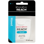 Johnson & Johnson Reach Waxed Dental Floss Unflavored