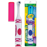 GUM Crayola Marker Power Toothbrush with Stickers 2272