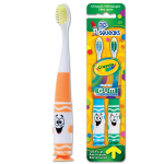 GUM Crayola Pip-Squeaks (2 toothbrush value pack) 232