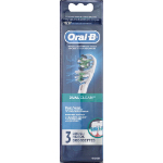 Oral B Dual Clean Brushhead 3 pack