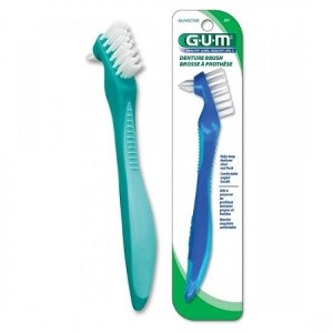 GUM Denture Brush 201
