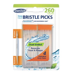 DenTek Deep Clean Bristle Picks 260ct