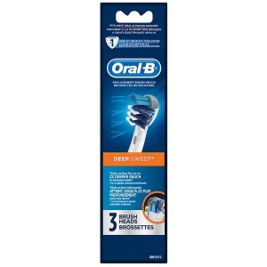 Oral B Professional Care Deep Sweep Replacement Brush Heads 3 pack