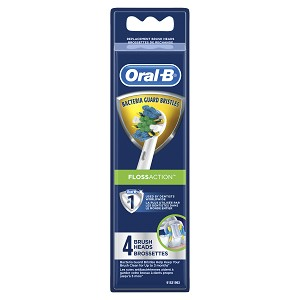 Oral B Floss Action Brushhead 4 pack