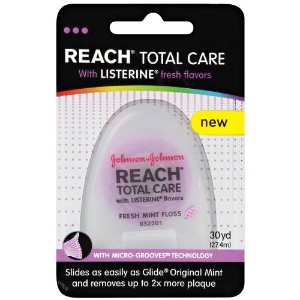 Reach Total Care Floss with Listerine