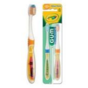 GUM Crayola Games Toothbrush (2 toothbrush value pack) 228